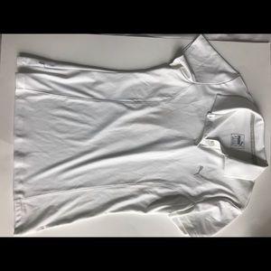 Puma golf shirt white